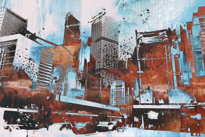 Modern festmény 24