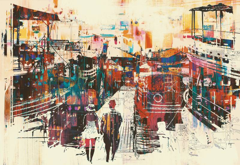 Modern festmény 25
