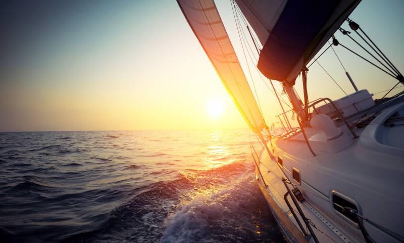 Vitorlázás, tenger